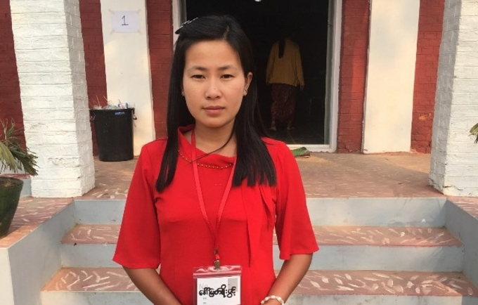 """Myat Noe Pwint in Myanmar's Naga Self-Administered Zone after a UNFPA-supported women's empowerment workshop: """"I've got a new attitude."""""""