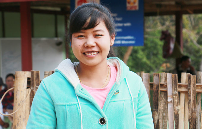 UNFPA enables Nang Sai and young women in Myanmar realizing their potential by building their skills in financial management, problem solving, decision making, and communication.
