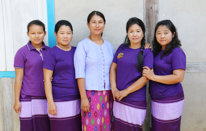 Don't mess with us. The staff at the Women and Girls Centre in Waing Maw, Kachin, Myanmar, are giving women and men the power to stop gender-based violence in their own communities.