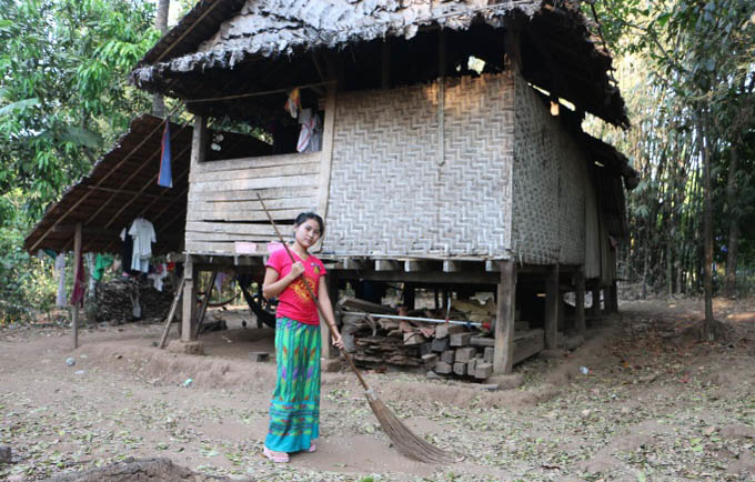 "Nan Su Su Naing, 19: ""Although there is no longer any fighting, we still bear the scars of it."""