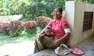 Inserted under the skin of the upper arm with a small incision, the implant prevents unintended pregnancy for up to five years. Bhyat Kha village in Kayin, Myanmar.