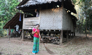 """Nan Su Su Naing, 19: """"Although there is no longer any fighting, we still bear the scars of it."""""""
