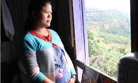 Hlei survived a serious pregnancy complication. The correct diagnosis by a skilled midwife made the difference between life and death.