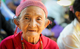 An elderly woman visiting a UNFPA-supported Women and Girls Centre in Myitkyina, Kachin State.