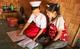 Midwife Nan Mya Phyu discusses family planning with Nan Aye Aye Han in Nam Khoke Village, Shan State, Myanmar.